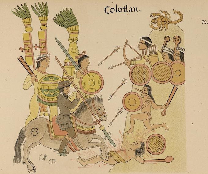 La conquista de Colotlán.