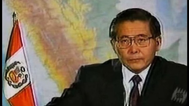 El presidente Fujimori.