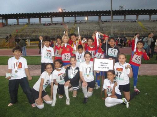 CCEE Reyes Católicos. Atletismo