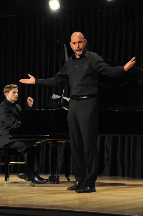 Un momento de la actuación (Fotografía de Juan Francisco Zuleta Orjuela).