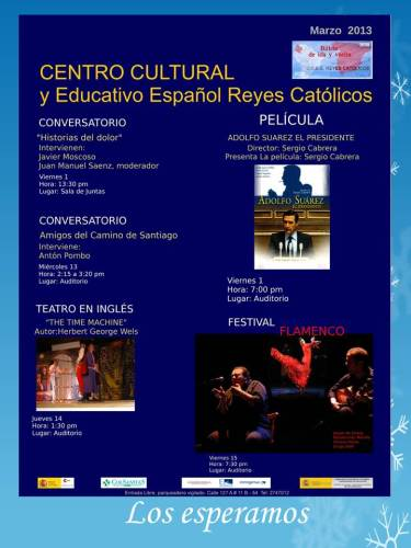 CCEE Reyes Católicos. marzo de 2013