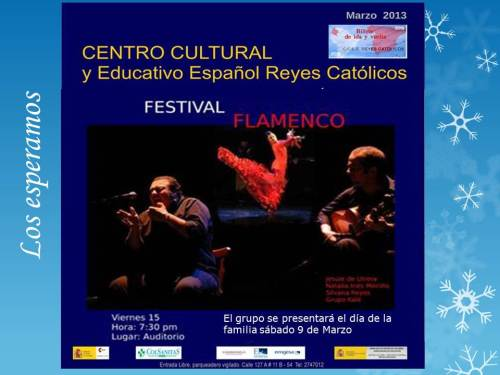 CCEE Reyes Católicos. Flamenco