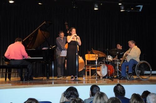 Un momento del concierto. Fotografía de Juan Francisco Zuleta Orjuela