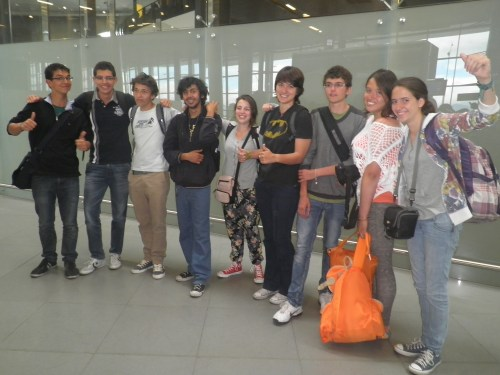 Despedida en el Aeropuerto de El Dorado