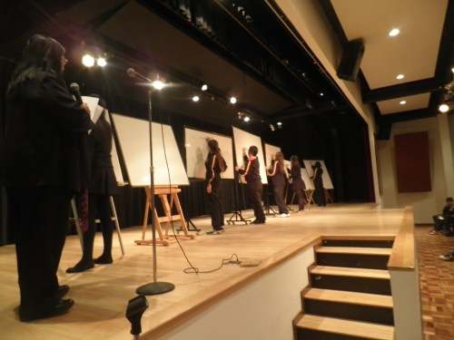 Un momento del concurso, en el Auditorio