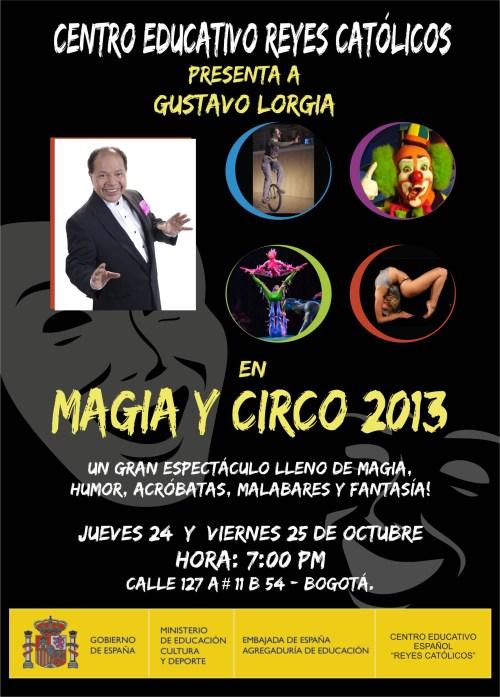 CCEE Reyes Católicos. Magia y Circo. Gustavo Lorgia