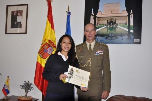 Valentina Caviedes y el Coronel Don Ricardo González