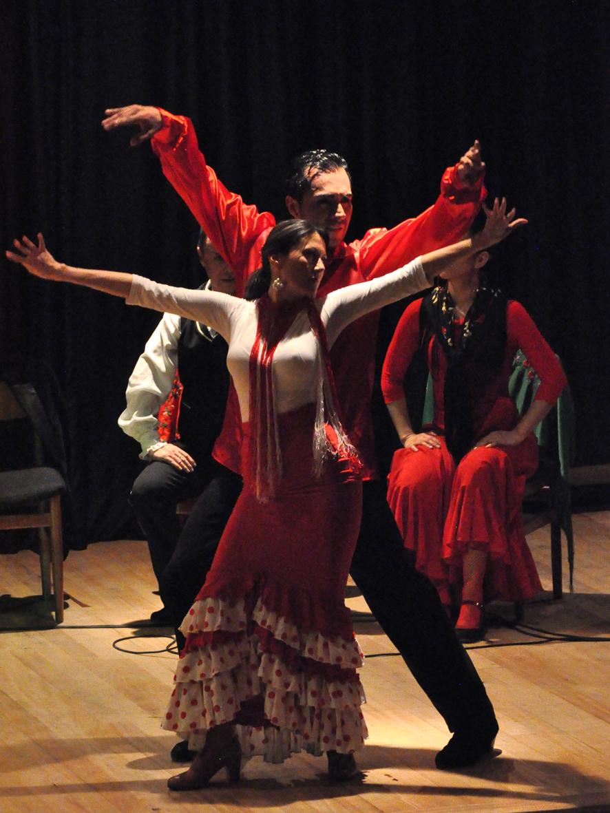 CCEE Reyes Católicos. Flamenco Rafael Gomez y Al-Andalus