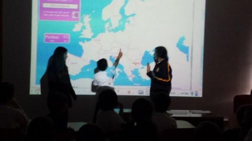 El alumnado de 2º de ESO (grado 8º) fue ron los profesores y profesoras de sus compañeros