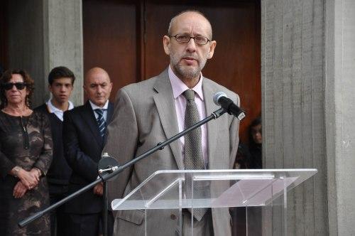 Don Álvaro Martínez-Cachero Laseca, Consejero de Educación de la Embajada de España en Brasil (Fotografía Juan Francisco Zuleta)