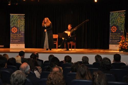 Un momento del Concierto, donde se interpretó música sacra y moral del siglo XVII (Fotografía Juan Francisco Zuleta Orjuela)