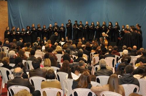 Misa Tango en el Centro Cultural Reyes Católicos