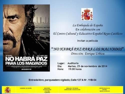CCEE Reyes Catolicos. Martes de cine español