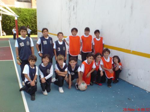 Finalistas en el campeonato de fútbol