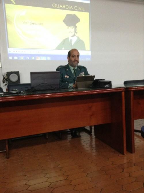 El Jefe de Seguridad descibrió todas las especialidades de la Guardia Civil en España