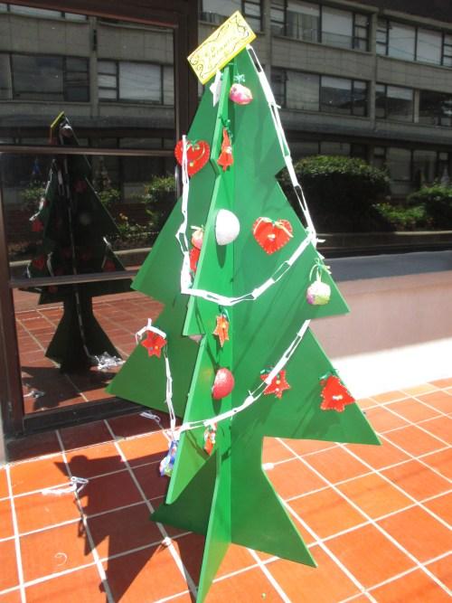Árbol de Navidad de Educación Infantil. CCEE Reyes Catòlicos