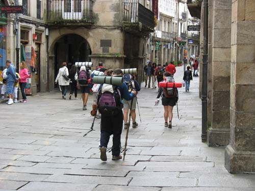 CCEE REyes Católicos. camino de Santiago