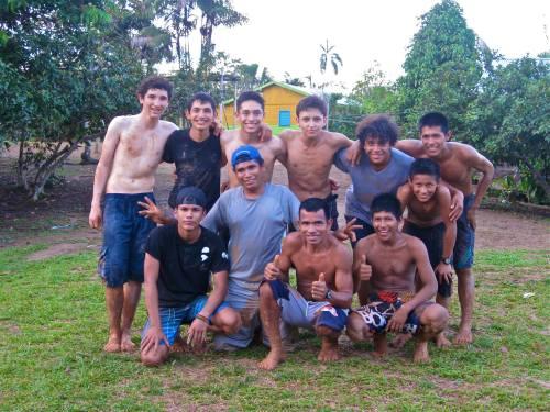 Grupo de alumnos.