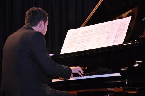 El pianista Paulo Navarro.