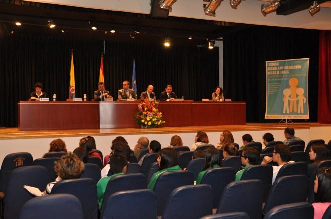 Acto inaugural del I Curso de la Escuela de Mediación Xesús R. Jares