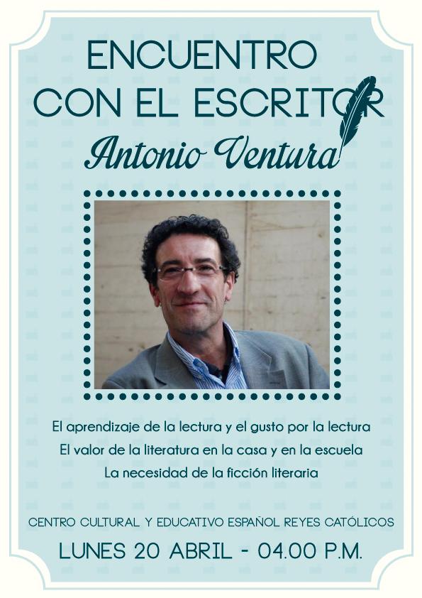 CCEE Reyes Católicos. Antonio Ventura