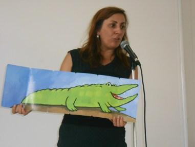 La escritora Ana Cristina Herreros.