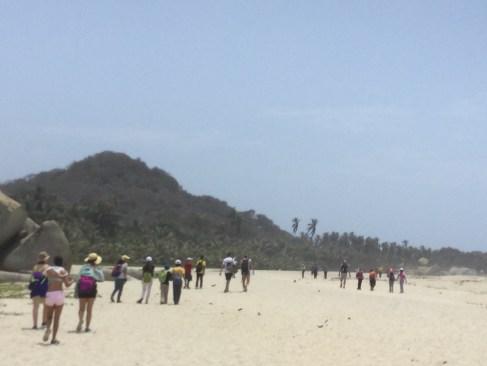 Caminata a Cabo San Juan Parque Tayrona
