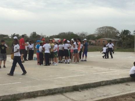 Centro Educativo en Palenque.