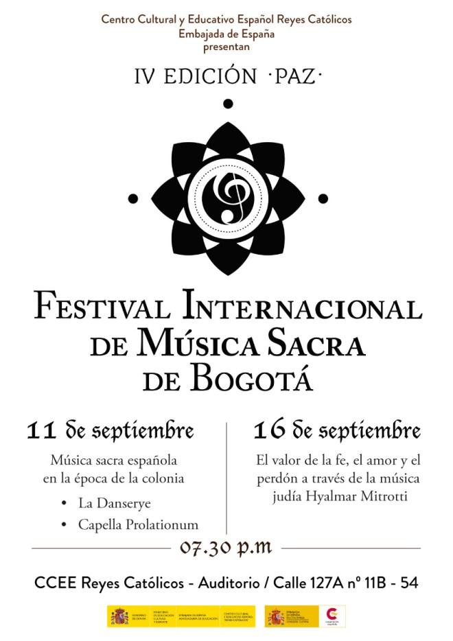 CCEE Reyes Catolicos. Festival Musica Sacra Bogota