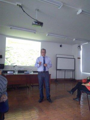Jaime Prieto en su conferencia. 4