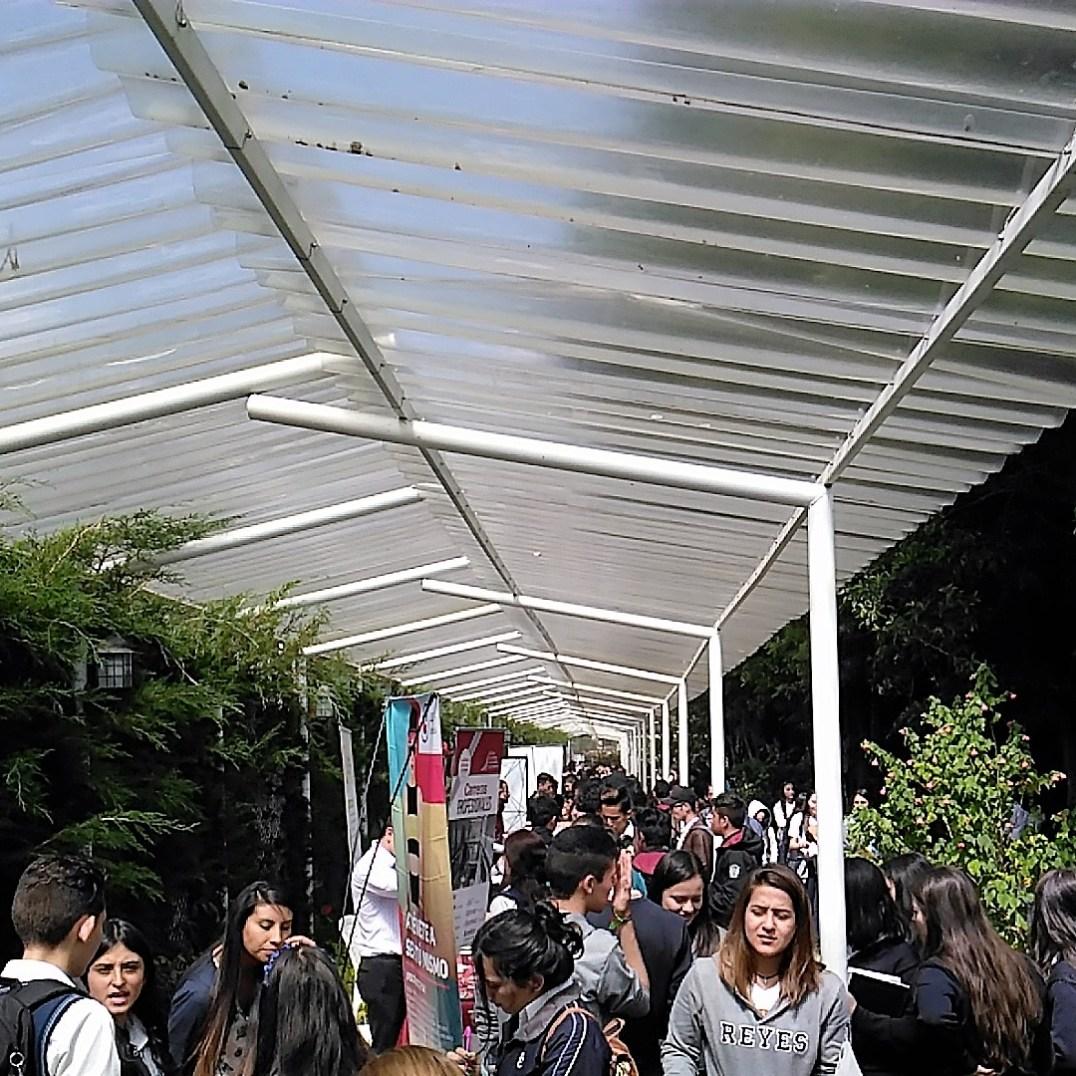 Expositores de las Universidades