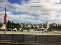 Vista de los Jerónimos desde el autobús