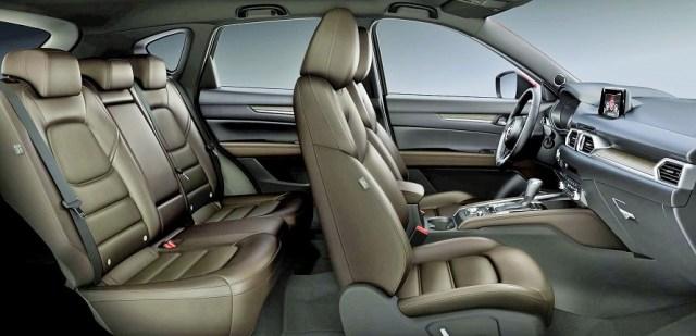 Mazda CX5_interior