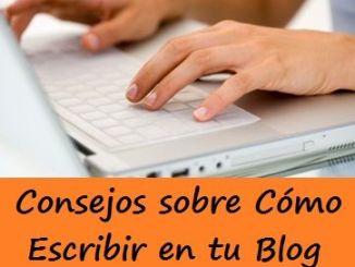 como escribir en tu blog