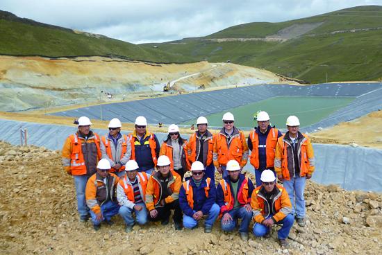 Ingenieros responsables de la seguridad minera