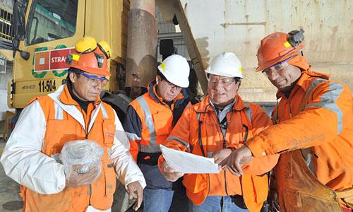 Minera La Zanja y contratistas