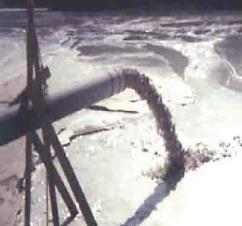 Regulación del empleo del agua en la mina