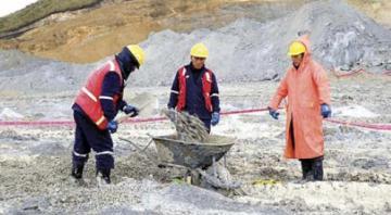 Actividades mineras en armonía con el cuidado ambiental