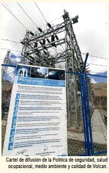 Política de seguridad en Volcan