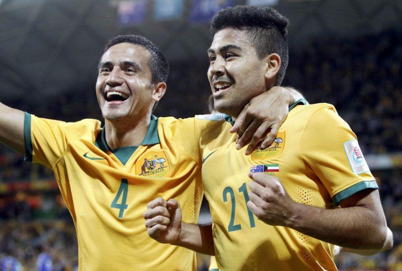 O camisa 21 é a nova aposta para substituir Tim Cahill, um dos ídolos do futebol australiano. (Foto: Reuters)