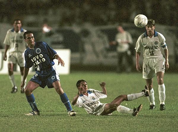 Tcheco ajudou o Malutrom a chegar a Série B e participou do jogo contra o Cruzeiro. (Foto: Valterci Santos)