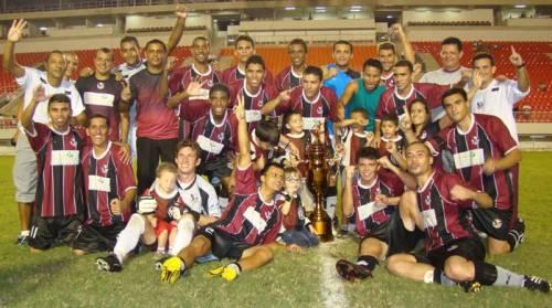Comemoração do título de 2009 (Foto: Reprodução/Futebol em Números)
