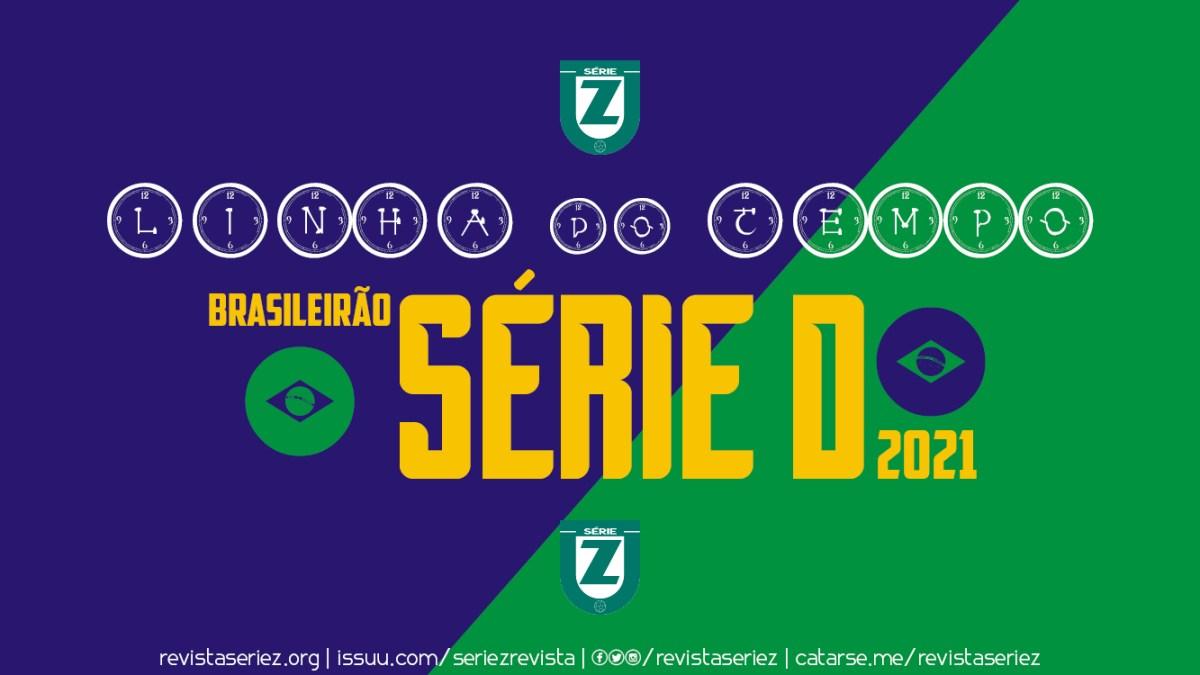 A Linha Do Tempo De Classificacao A Serie D 2021 Revista Serie Z