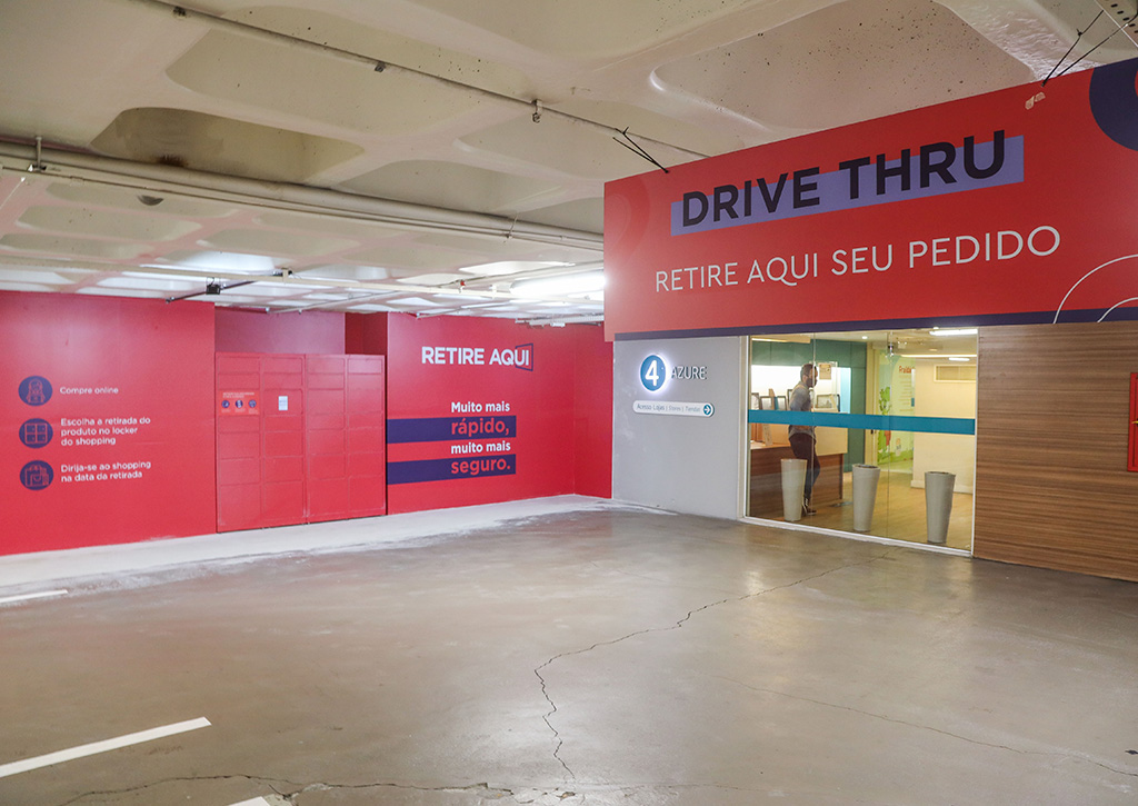 Ações para retomada Ancar Ivanhoe Drive-thru e Lockers - Revista Shopping Centers