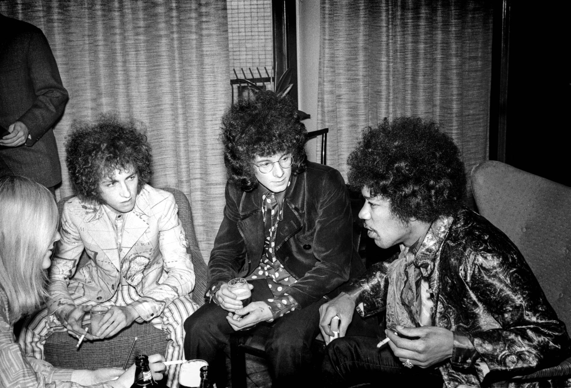 Jimi Hendrix Noel Redding Mitch-Mitchell Helsinki 1967
