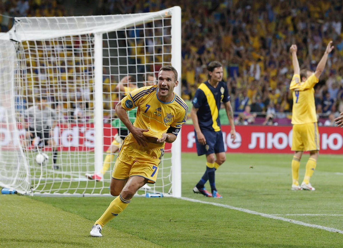 Andriy Shevchenko gol Eurocopa 2012