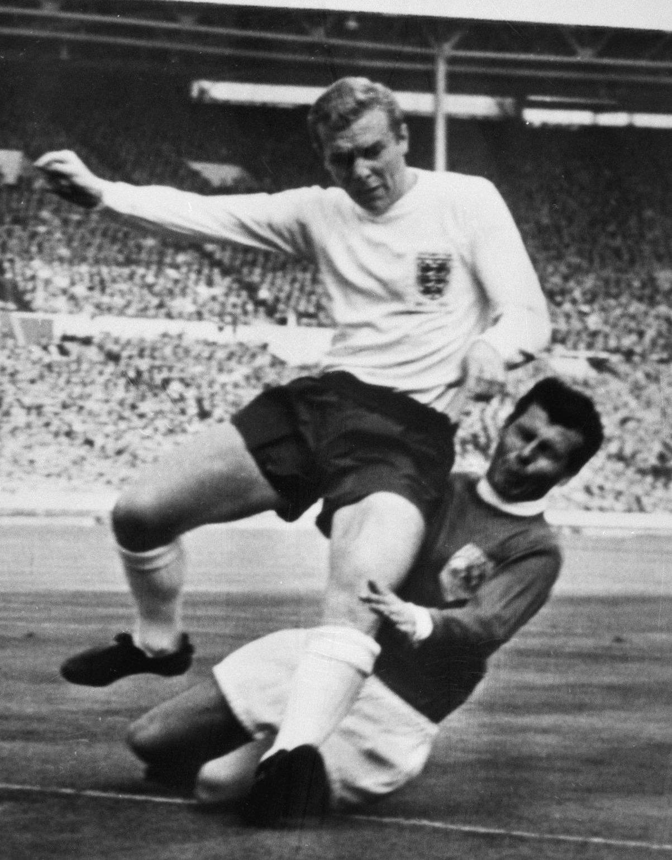 Bobby Moore Josef Masopust Inglaterra Resto Mundo