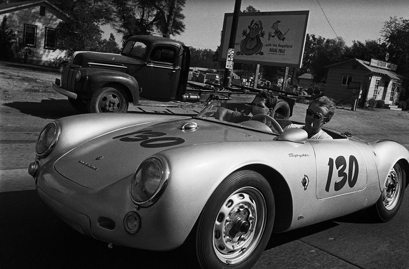 James Dean Porsche 550 Spyder Rolf Wütherich