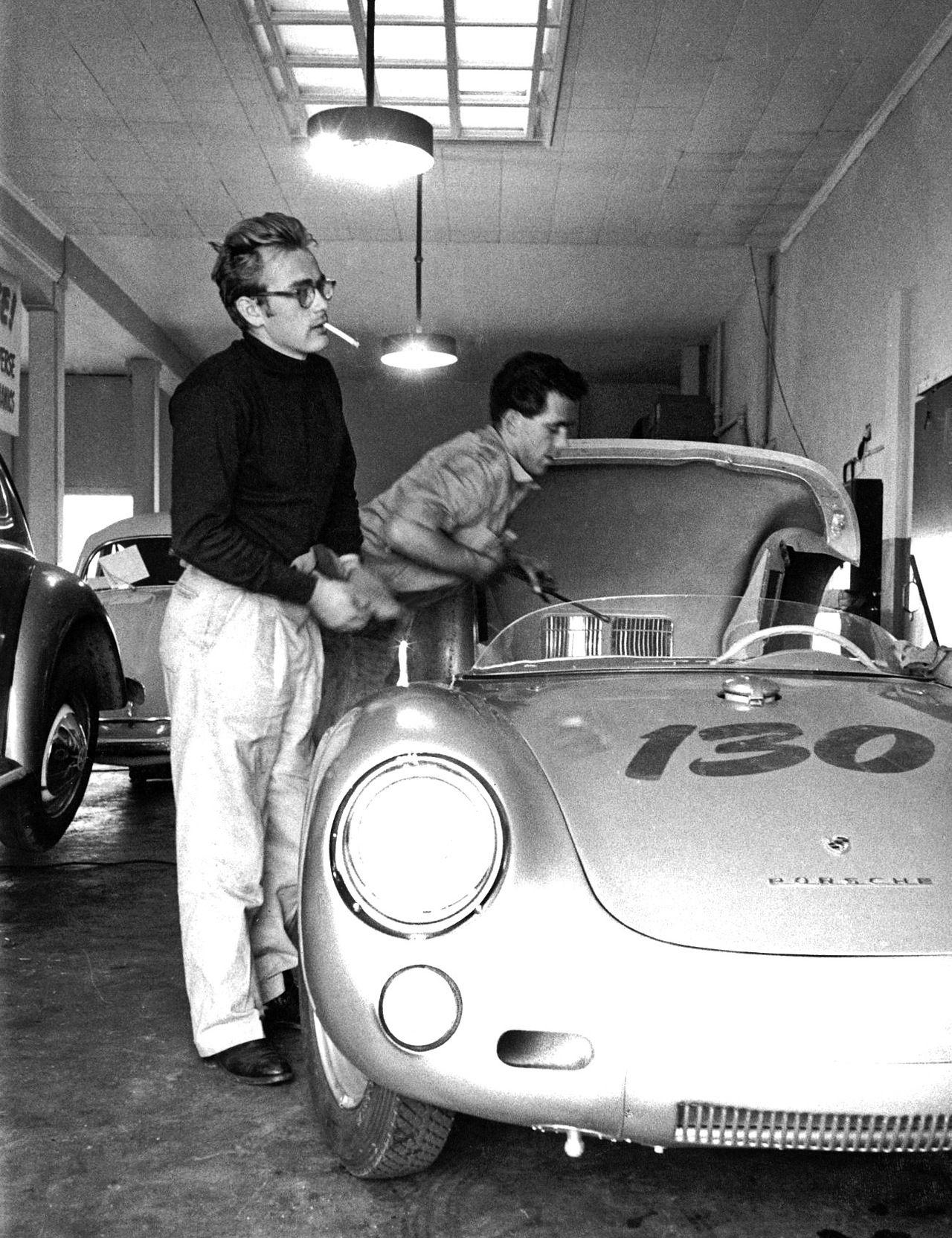 James Dean taller Rolf Wütherich Porsche 550 Spyder
