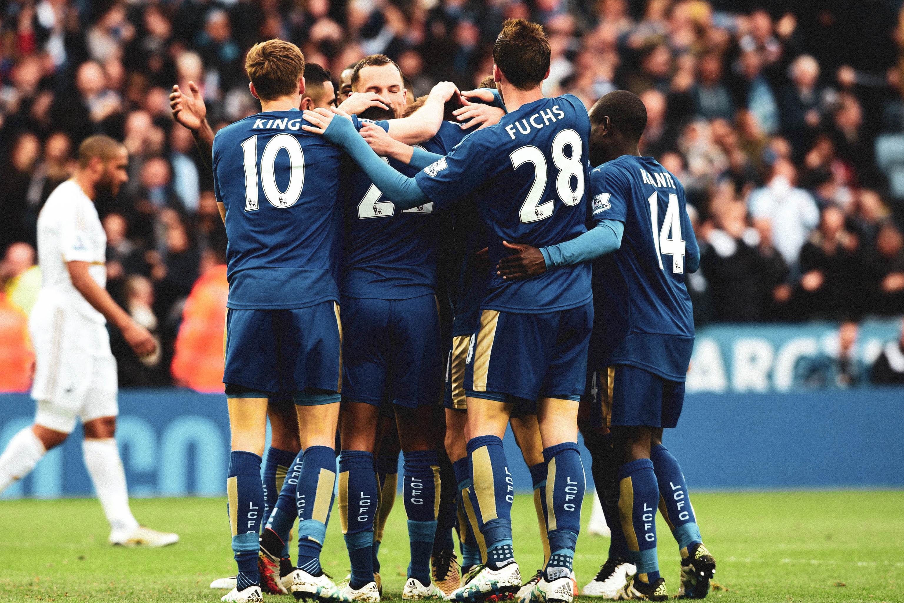 Leicester City celebración 2015
